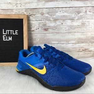 Nike Metcon 4 XD Men's Cross Training Shoe Blue